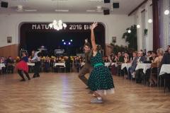 Vystoupení na maturitním plese 1